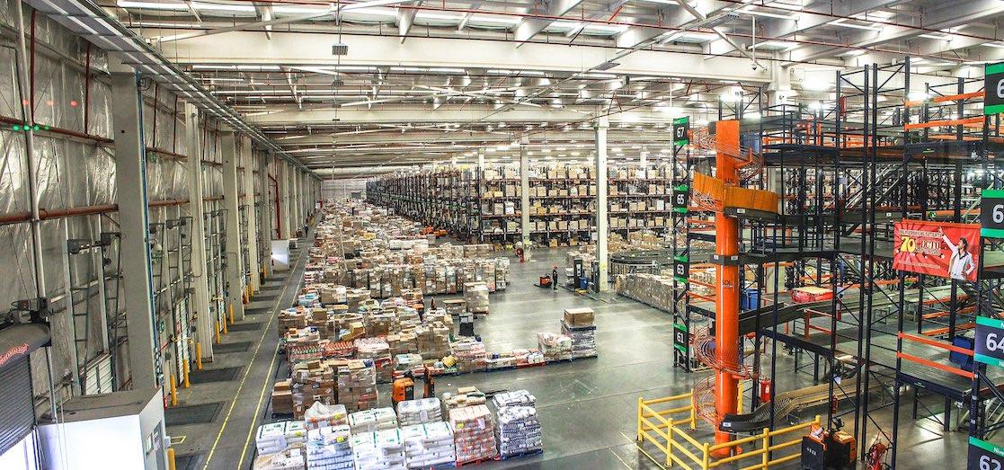 Almacenes centros logisticos - Edinalia